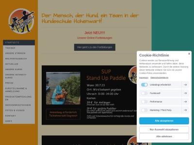 hundeschule-hohenwart.com