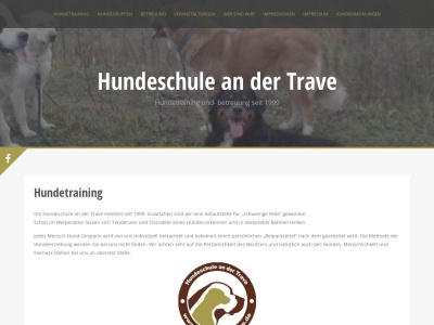 hundeschule-trave.de