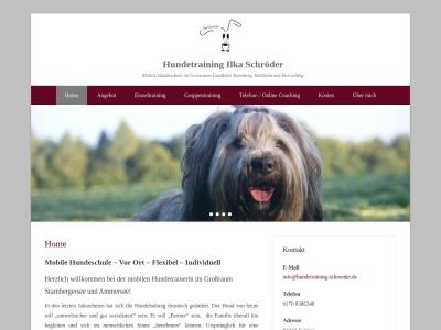 hundetraining-schroeder.de