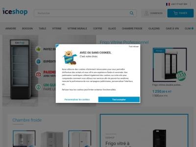 Iceshop vente de matériel frigorifique C.H.R