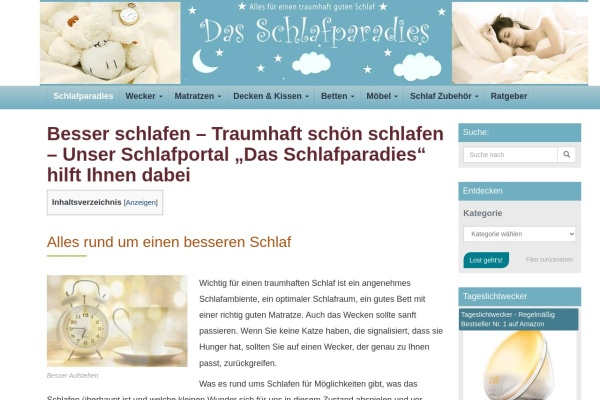 http://www.ich-schlafe-gut.de
