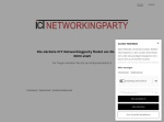 Screenshot of www.ict-networkingparty.ch