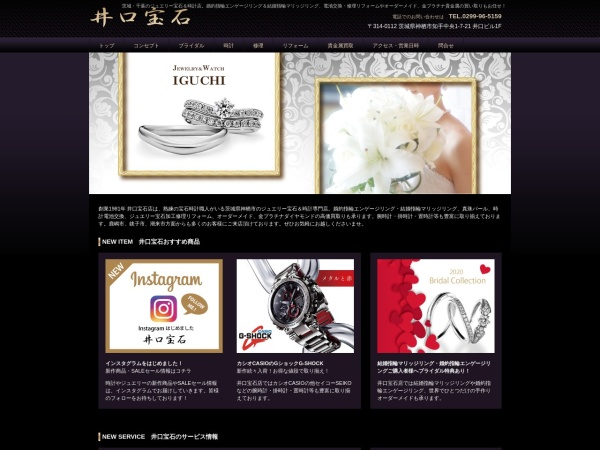 Screenshot of www.iguchi-houseki.com