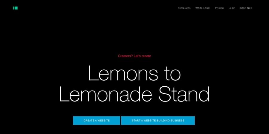 Screenshot of www.imcreator.com