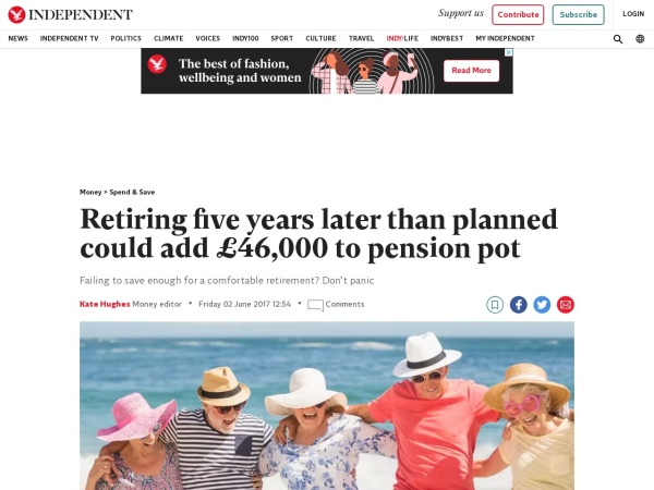 http://www.independent.co.uk/money/spend-save/retirement-five-years-later-65-age-add-46000-pension-pot-fund-savings-aegon-british-workers-uk-a7764666.html