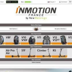 Screenshot of www.inmotion-france.fr