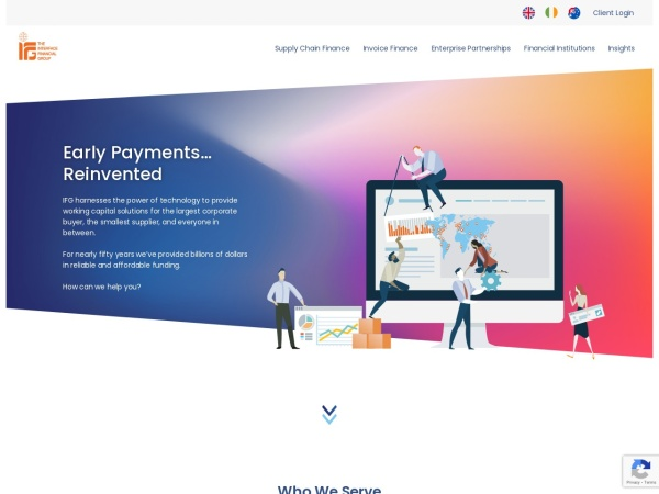 Screenshot of www.interfacefinancial.com