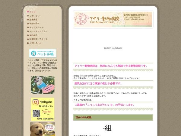Screenshot of www.irie-ac.com