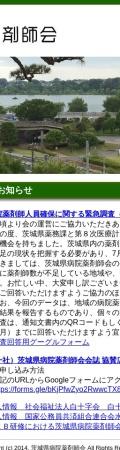 Screenshot of www.ishp.gr.jp