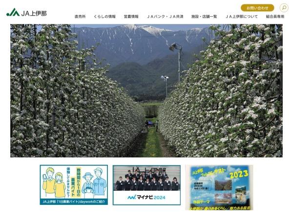 Screenshot of www.ja-kamiina.iijan.or.jp