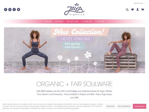 Screenshot of www.jaya-fashion.de