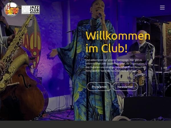 Screenshot von www.jazz-minden.de
