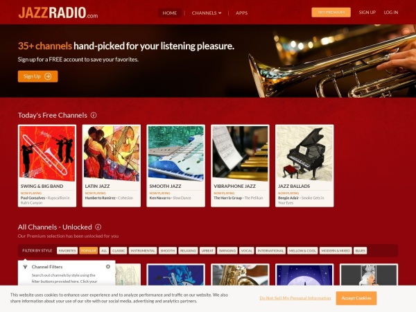 JAZZRADIO.com - enjoy great jazz music