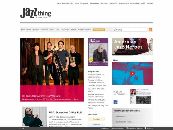 http://www.jazzthing.de