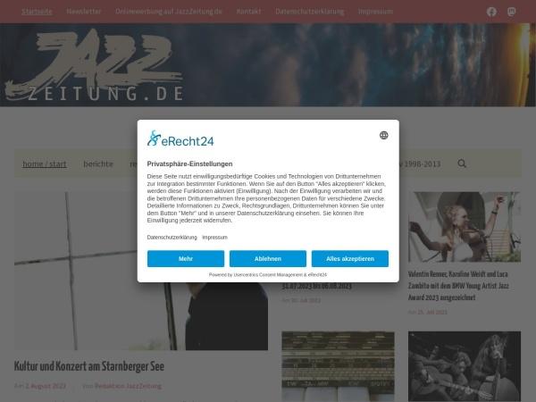 http://www.jazzzeitung.de