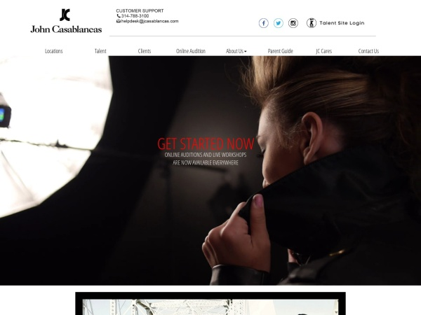 Screenshot of www.jcasablancas.com
