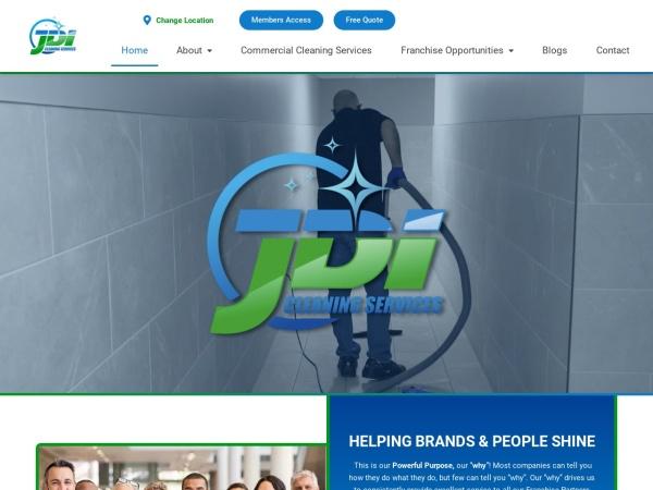 Screenshot of www.jdicleaning.com