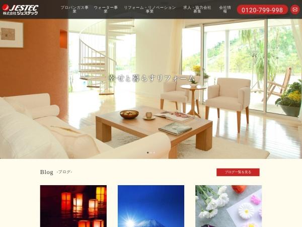 Screenshot of www.jestec.co.jp