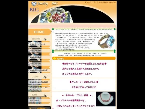 Screenshot of www.jewelry-big.com