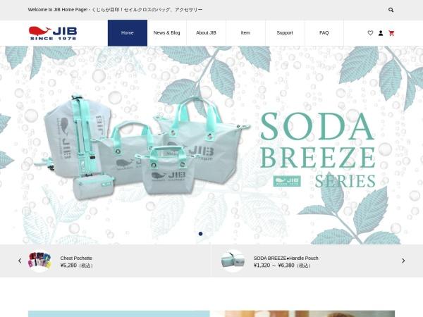Screenshot of www.jib.ne.jp