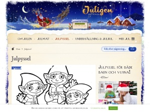 Julpyssel - Juligen