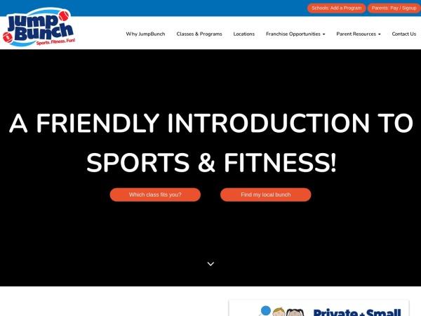 Screenshot of www.jumpbunch.com