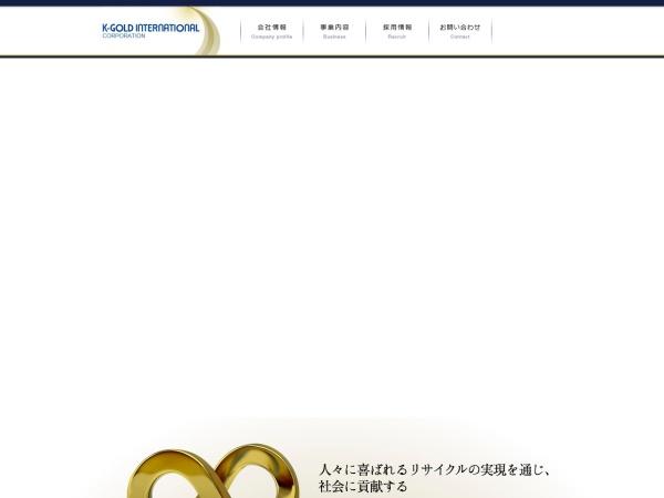 Screenshot of www.k-gold.co.jp