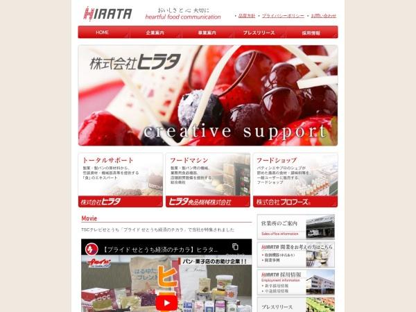 Screenshot of www.k-hirata.co.jp