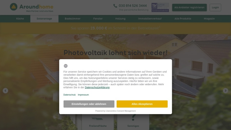 Screenshot of www.kaeuferportal.de