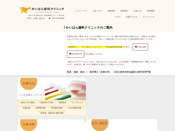 Screenshot of www.kaihara-dc.com