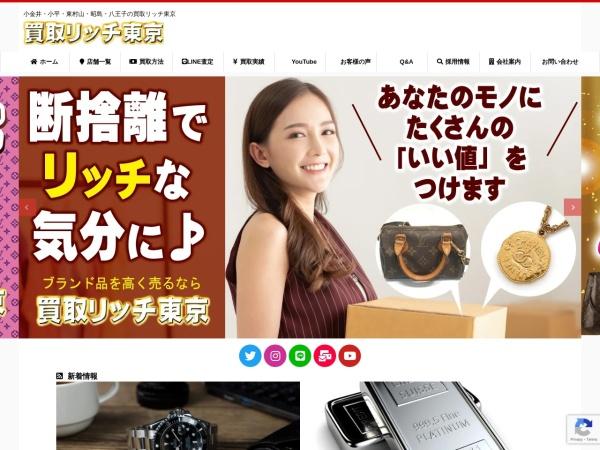 Screenshot of www.kaito-rich.com