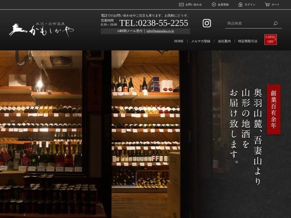 Screenshot of www.kamosika.co.jp