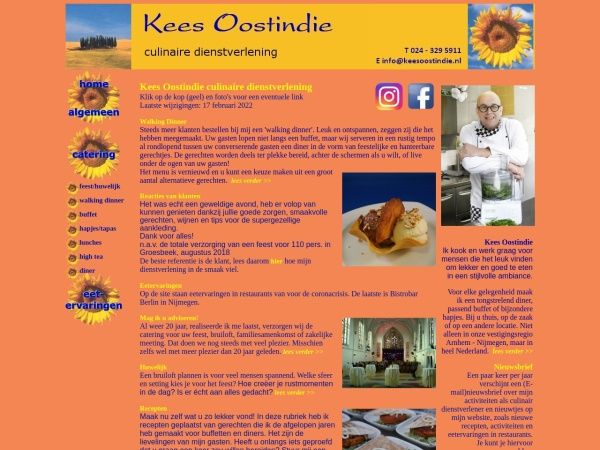 Screenshot of www.keesoostindie.nl