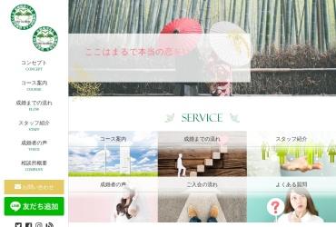 Screenshot of www.kenminkekkon.com