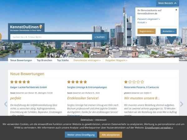 Suchmaschine KennstDuEinen.de