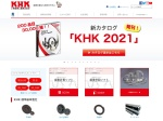 Screenshot of www.khkgears.co.jp
