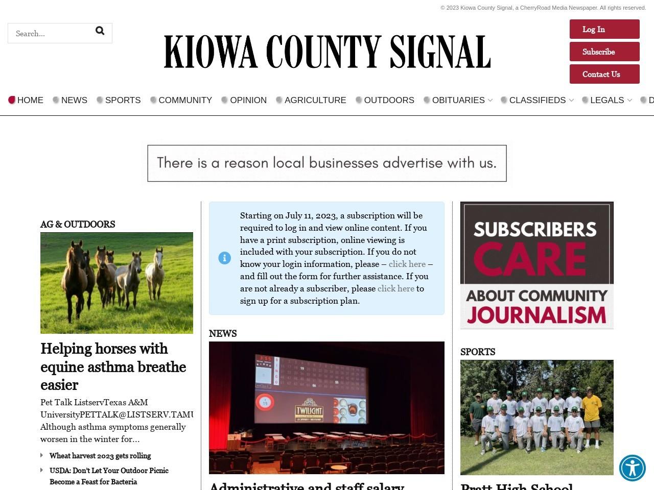 kiowacountysignal.com