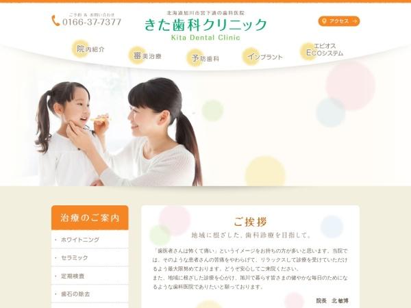 Screenshot of www.kitadental.com