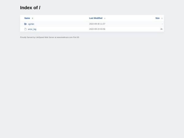Screenshot of www.kiwikraze.com