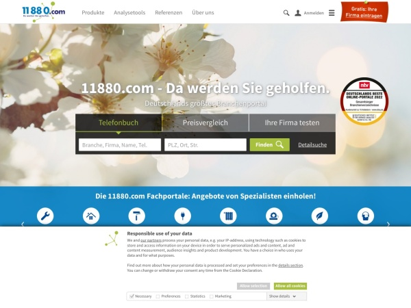 Suchmaschine KlickTel.de