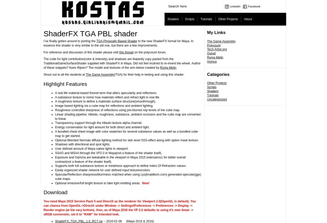 Screenshot of www.kostas.se