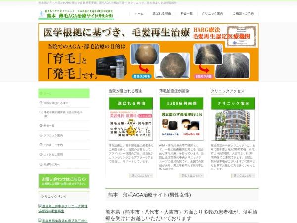 Screenshot of www.kumamoto-aga.com