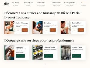 Apprenez à brasser votre propre bière à Paris