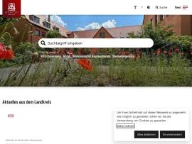 Screenshot of www.landkreis-roth.de