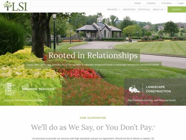 Screenshot of www.landscapeservicesinc.com