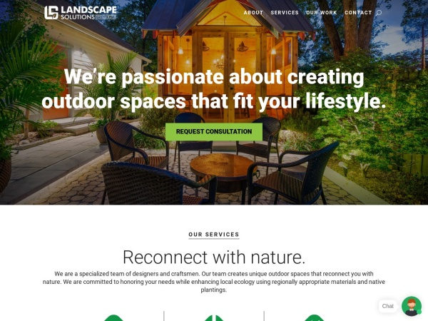 Screenshot of www.landscapetn.com