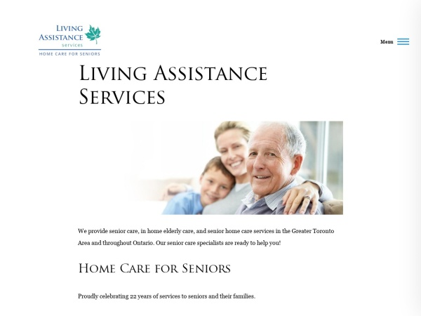 Screenshot of www.laservices.ca