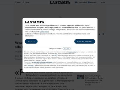 http://www.lastampa.it/2013/05/31/cultura/venezia-anche-il-vaticano-alla-biennale-zAIYAnlAc3scgWWHlkqfgM/pagina.html