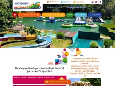 Camping dordogne avec parc aquatique