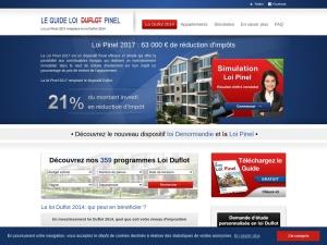 Immobilier loi Duflot